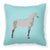 Buy this Orlov Trotter Horse Blue Check Fabric Decorative Pillow BB8082PW1818