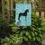 Friesian Horse Blue Check Flag Garden Size by Caroline's Treasures