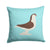 Large Pigeon Blue Check Fabric Decorative Pillow BB8117PW1414 by Caroline's Treasures