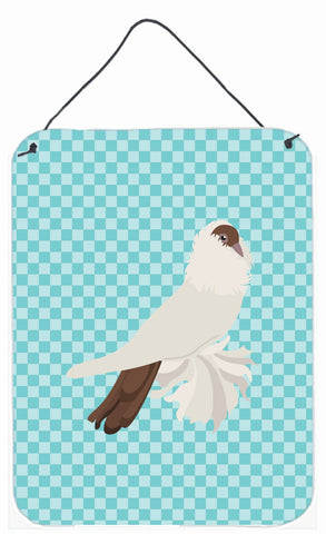 Buy this German Helmet Pigeon Blue Check Wall or Door Hanging Prints BB8118DS1216