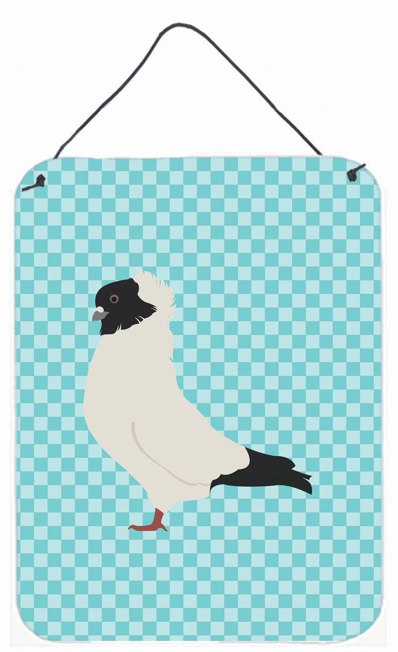 Buy this Nun Pigeon Blue Check Wall or Door Hanging Prints BB8126DS1216