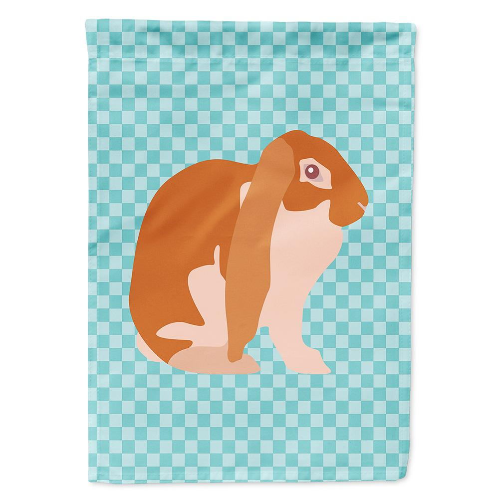 Buy this English Lop Rabbit Blue Check Flag Garden Size