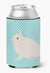 Hermelin Rabbit Blue Check Can or Bottle Hugger BB8138CC by Caroline's Treasures