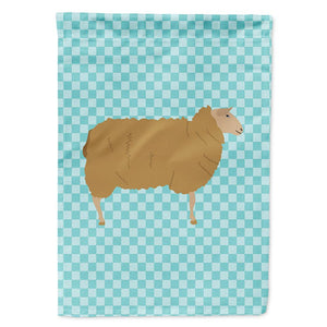 Buy this East Friesian Sheep Blue Check Flag Garden Size