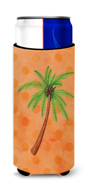 Buy this Palm Tree Orange Polkadot Michelob Ultra Hugger for slim cans BB8168MUK