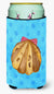 Sea Shell Blue Polkadot Tall Boy Beverage Insulator Hugger BB8171TBC by Caroline's Treasures