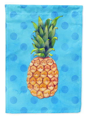 Buy this Pineapple Blue Polkadot Flag Garden Size BB8191GF