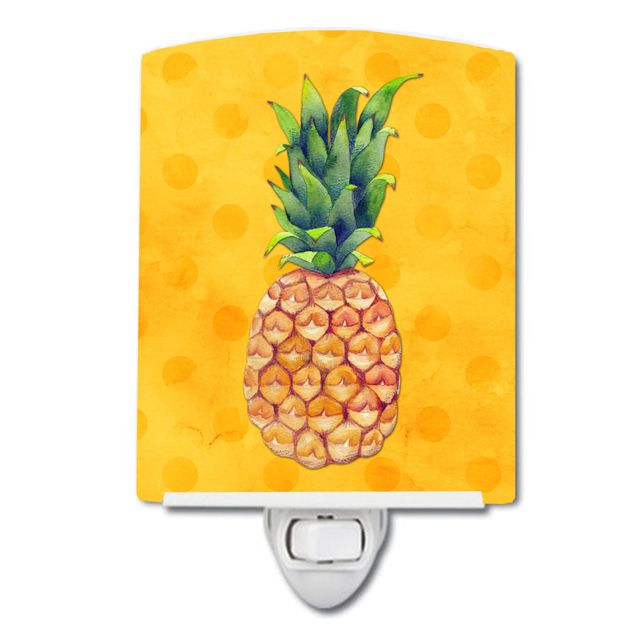 Buy this Pineapple Yellow Polkadot Ceramic Night Light BB8192CNL