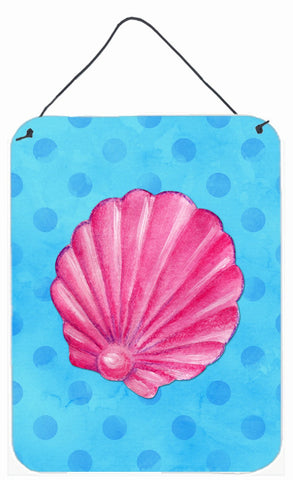 Buy this Pink Sea Shell Blue Polkadot Wall or Door Hanging Prints BB8241DS1216