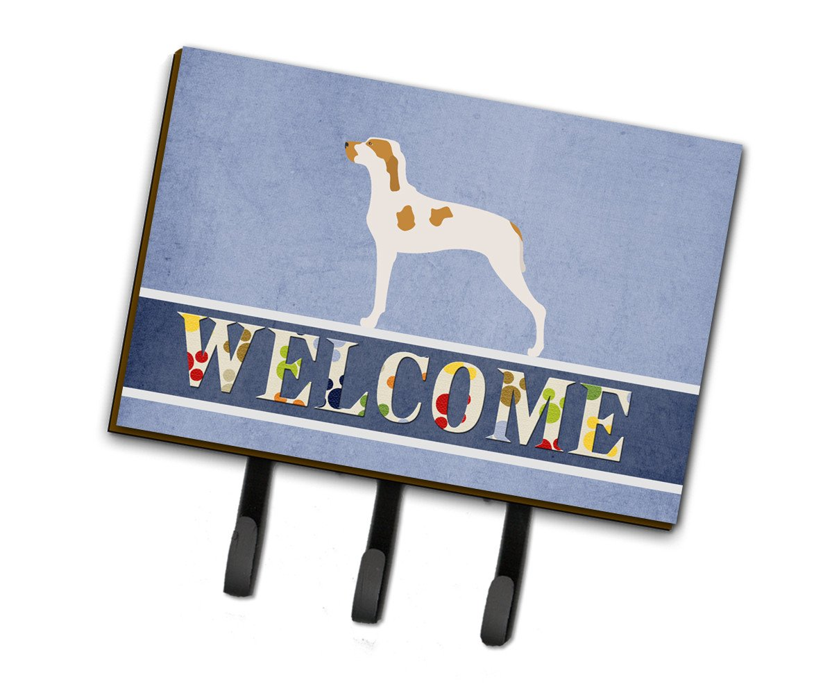 Ariege Pointer Welcome Leash or Key Holder BB8272TH68 by Caroline's Treasures