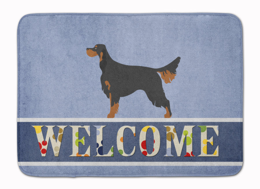 Buy this Gordon Setter Welcome Machine Washable Memory Foam Mat BB8274RUG