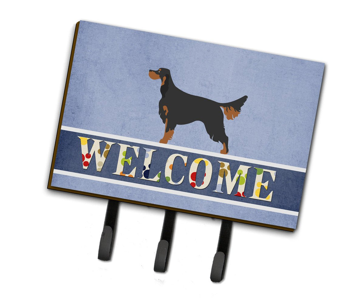 Buy this Gordon Setter Welcome Leash or Key Holder BB8274TH68