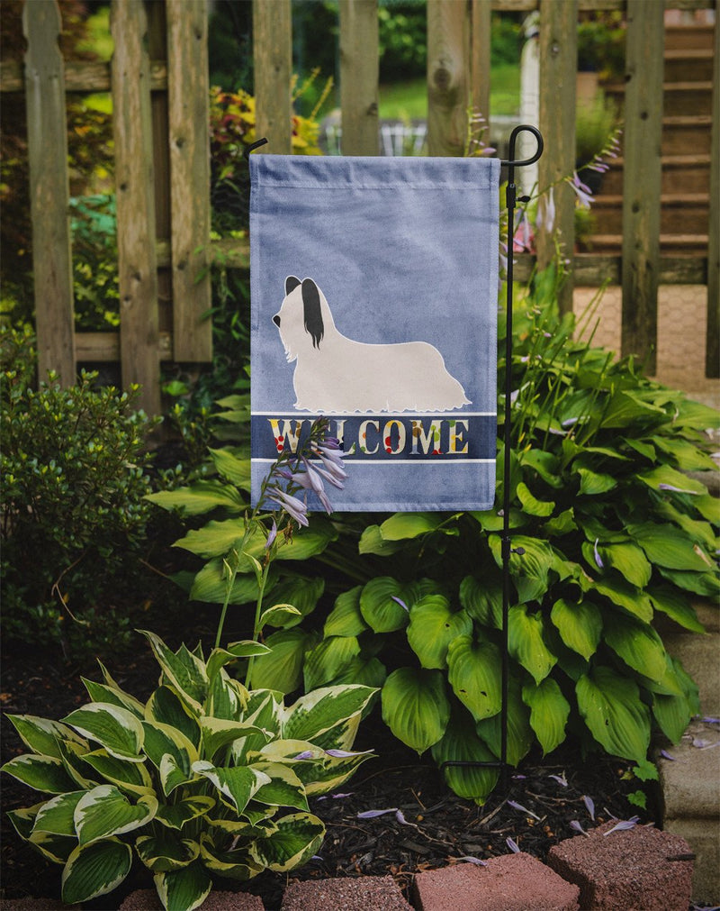 Buy this Skye Terrier Welcome Flag Garden Size BB8278GF