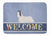 Skye Terrier Welcome Machine Washable Memory Foam Mat BB8278RUG by Caroline's Treasures