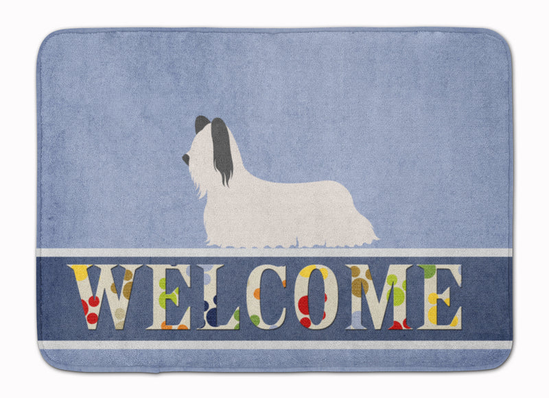 Buy this Skye Terrier Welcome Machine Washable Memory Foam Mat BB8278RUG