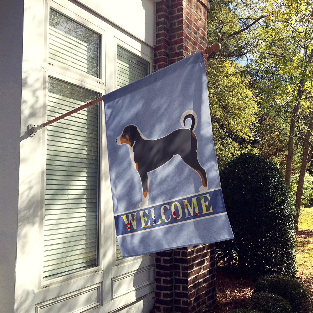Appenzeller Sennenhund Welcome Flag Canvas House Size BB8288CHF by Caroline's Treasures