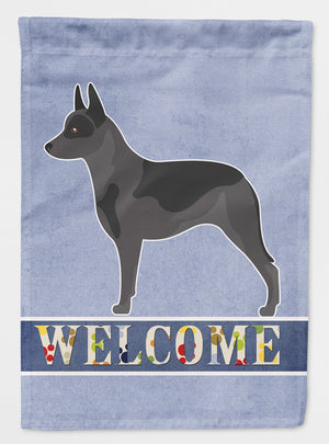Buy this Australian Cattle Dog Welcome Flag Garden Size BB8289GF