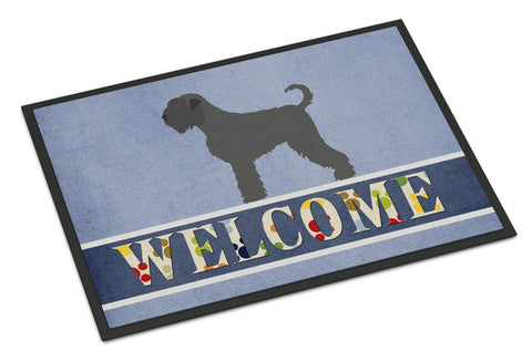 Buy this Black Russian Terrier Welcome Indoor or Outdoor Mat 24x36 BB8293JMAT