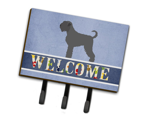 Buy this Black Russian Terrier Welcome Leash or Key Holder BB8293TH68