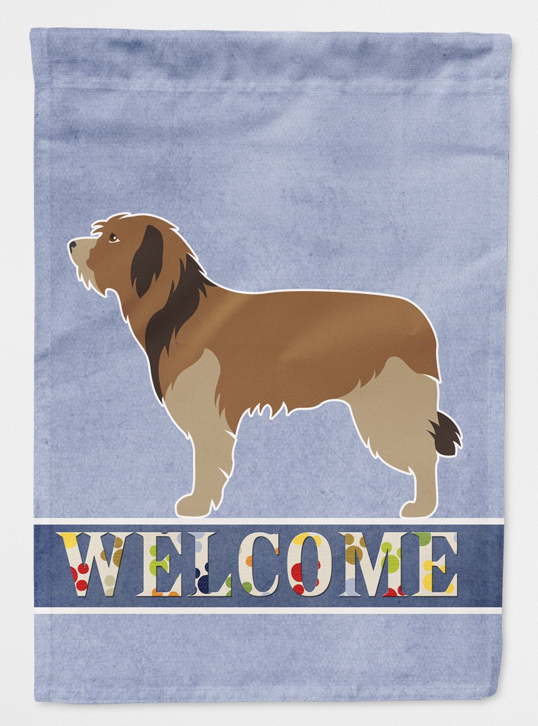 Buy this Catalan Sheepdog Welcome Flag Garden Size BB8295GF