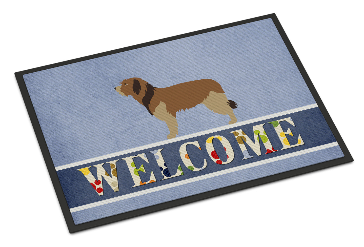Buy this Catalan Sheepdog Welcome Indoor or Outdoor Mat 18x27 BB8295MAT