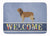 Buy this Catalan Sheepdog Welcome Machine Washable Memory Foam Mat BB8295RUG