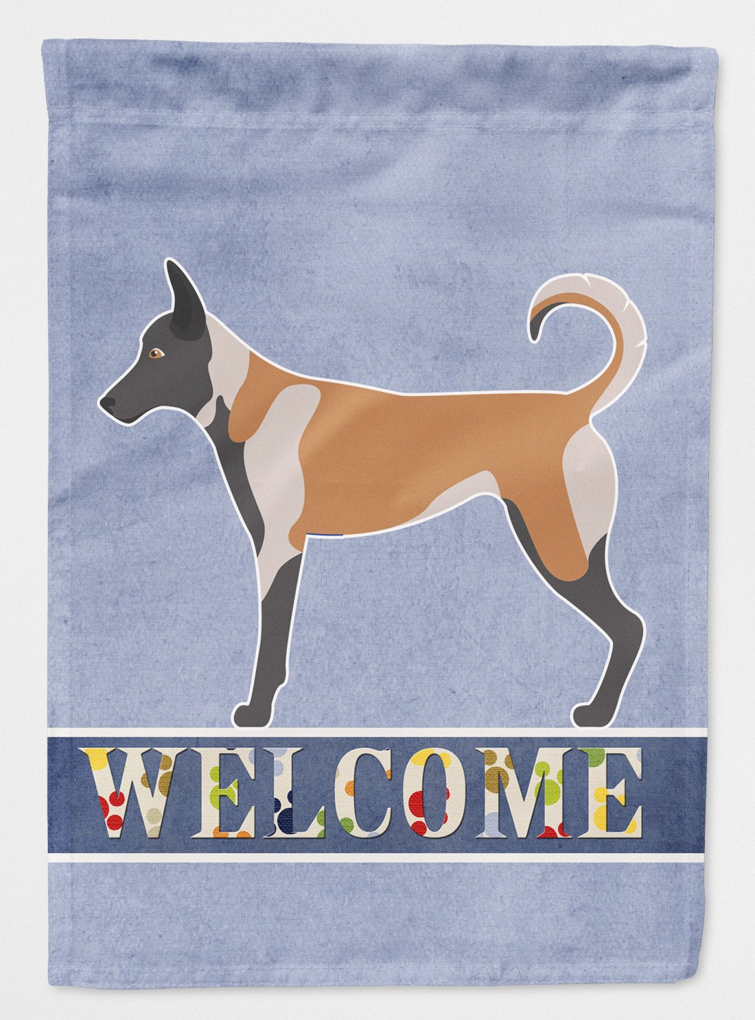 Buy this Malinois Welcome Flag Garden Size BB8299GF