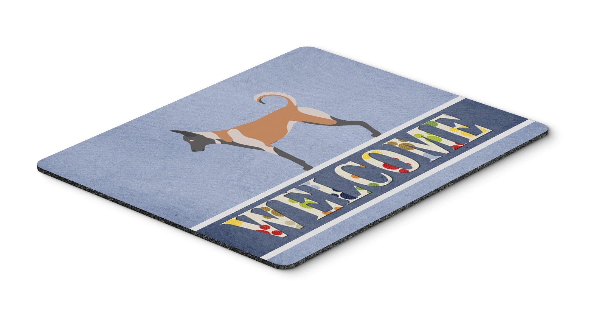 Malinois Welcome Mouse Pad, Hot Pad or Trivet BB8299MP by Caroline's Treasures