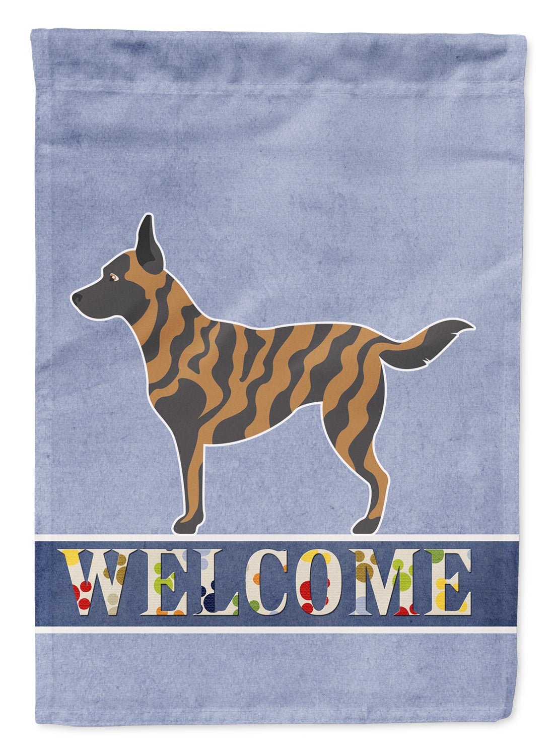 Dutch Shepherd Welcome Flag Garden Size BB8300GF by Caroline's Treasures