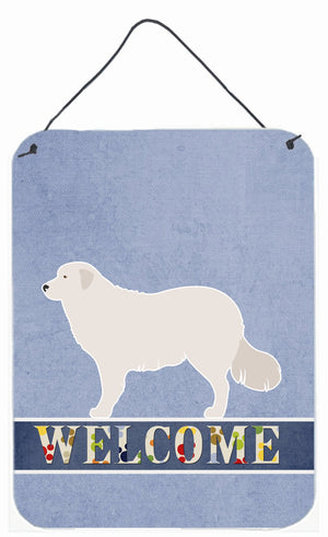 Buy this Kuvasz Welcome Wall or Door Hanging Prints BB8305DS1216