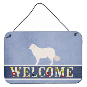Buy this Kuvasz Welcome Wall or Door Hanging Prints BB8305DS812