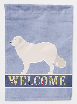 Buy this Kuvasz Welcome Flag Garden Size BB8305GF