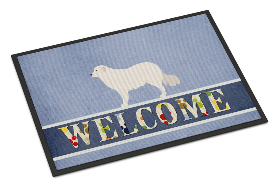 Buy this Kuvasz Welcome Indoor or Outdoor Mat 24x36 BB8305JMAT