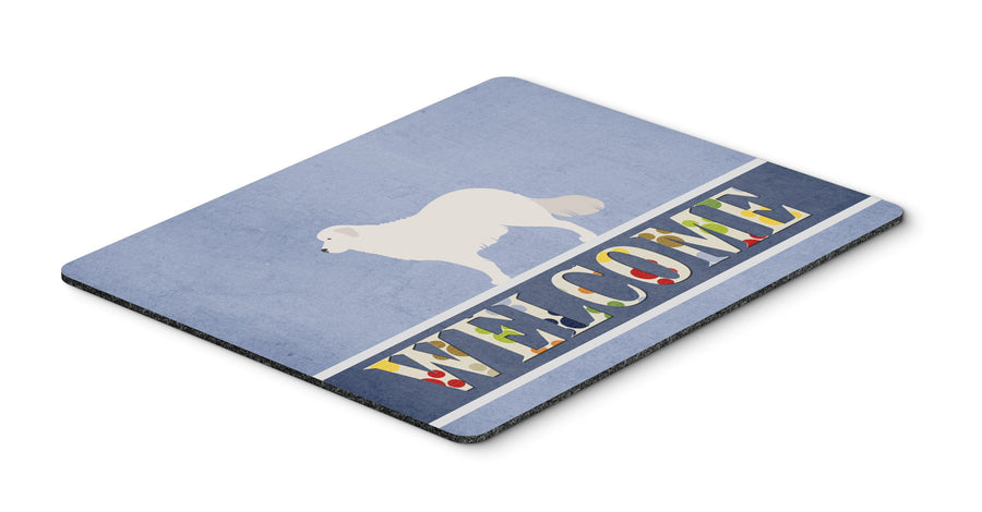 Buy this Kuvasz Welcome Mouse Pad, Hot Pad or Trivet BB8305MP