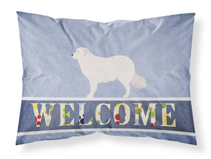 Buy this Kuvasz Welcome Fabric Standard Pillowcase BB8305PILLOWCASE