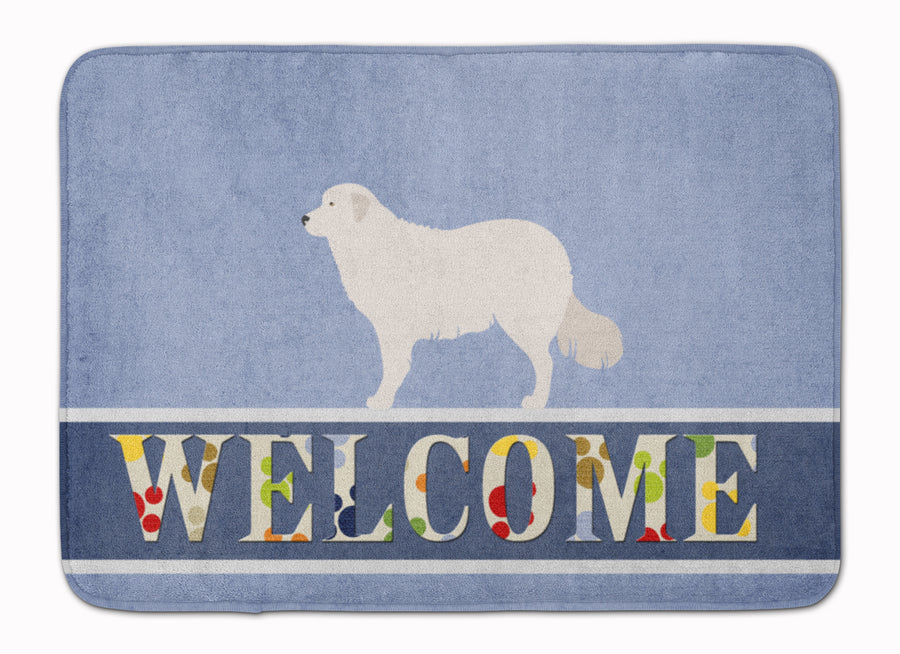 Buy this Kuvasz Welcome Machine Washable Memory Foam Mat BB8305RUG