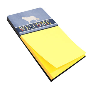 Buy this Kuvasz Welcome Sticky Note Holder BB8305SN