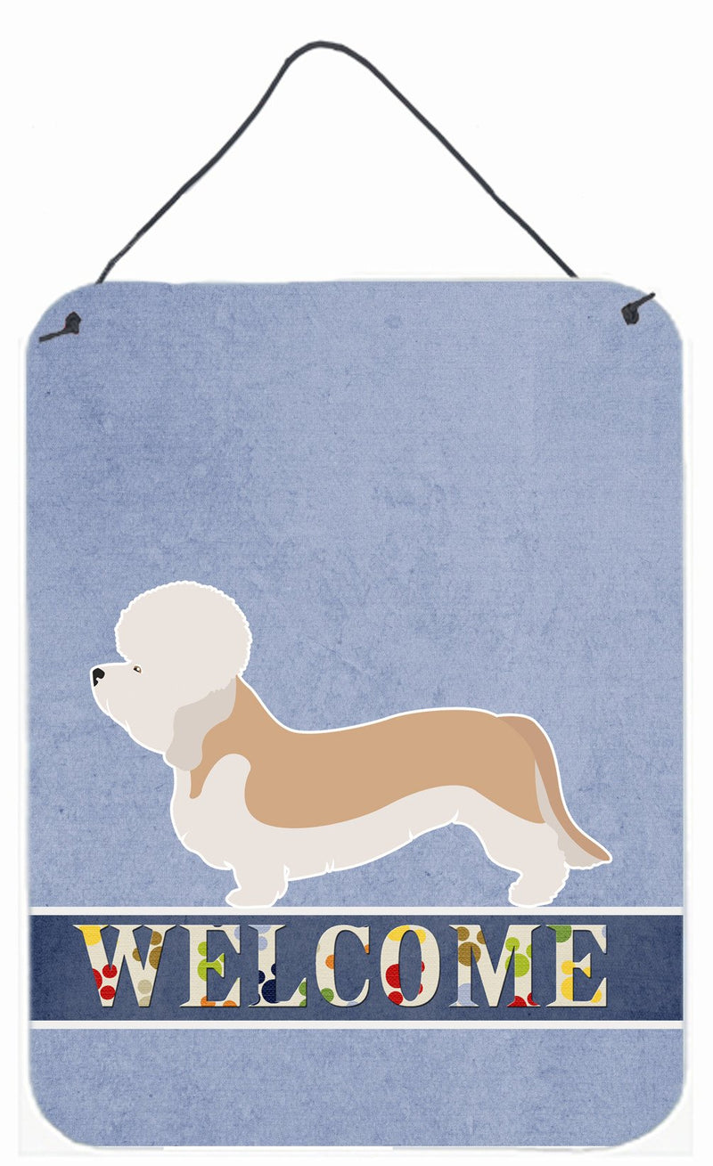 Buy this Dandie Dinmont Terrier Welcome Wall or Door Hanging Prints BB8312DS1216