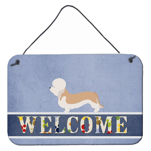 Buy this Dandie Dinmont Terrier Welcome Wall or Door Hanging Prints BB8312DS812