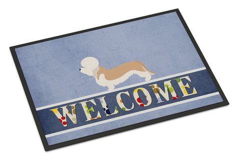 Buy this Dandie Dinmont Terrier Welcome Indoor or Outdoor Mat 18x27 BB8312MAT