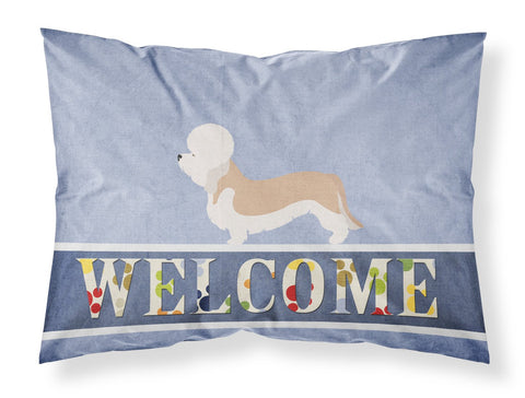 Buy this Dandie Dinmont Terrier Welcome Fabric Standard Pillowcase BB8312PILLOWCASE