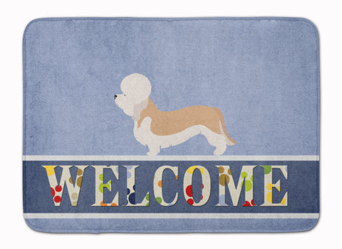 Buy this Dandie Dinmont Terrier Welcome Machine Washable Memory Foam Mat BB8312RUG