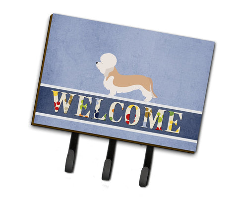 Buy this Dandie Dinmont Terrier Welcome Leash or Key Holder BB8312TH68