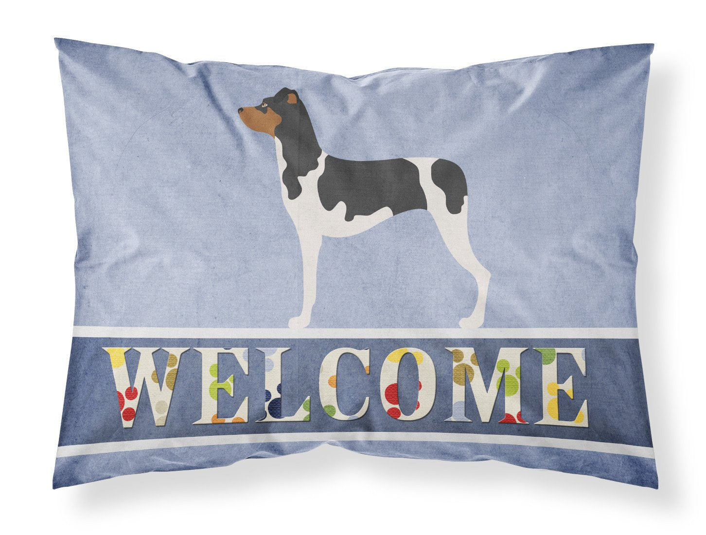 Brazilian Terrier Welcome Fabric Standard Pillowcase BB8315PILLOWCASE by Caroline's Treasures