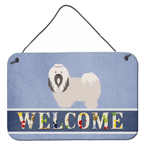 Buy this Lhasa Apso Welcome Wall or Door Hanging Prints BB8319DS812
