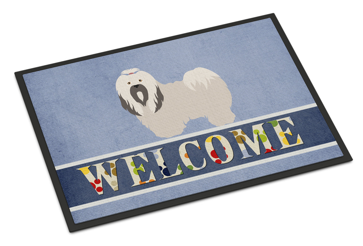 Buy this Lhasa Apso Welcome Indoor or Outdoor Mat 18x27 BB8319MAT