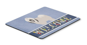 Buy this Lhasa Apso Welcome Mouse Pad, Hot Pad or Trivet BB8319MP