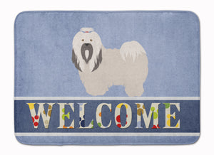 Buy this Lhasa Apso Welcome Machine Washable Memory Foam Mat BB8319RUG