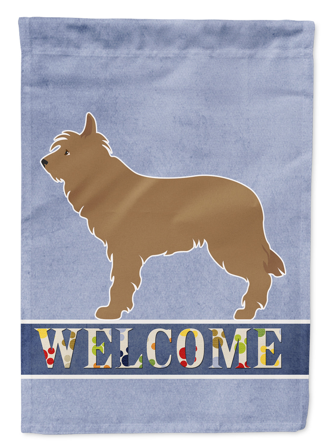 Buy this Berger Picard Welcome Flag Garden Size BB8321GF