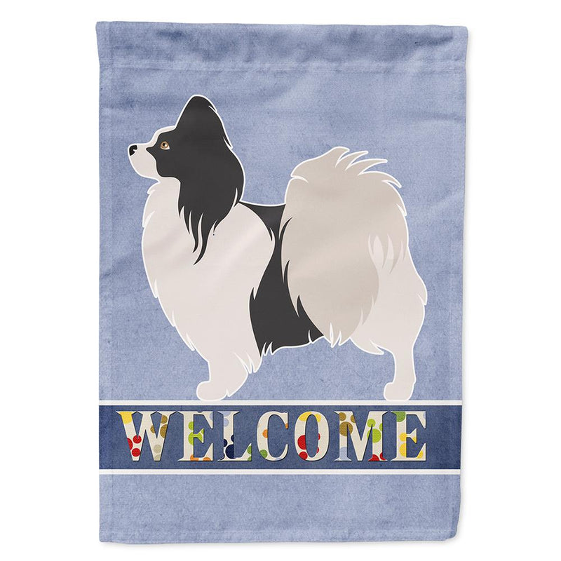 Buy this Papillon Welcome Flag Garden Size